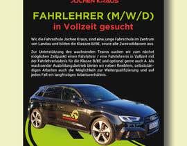 #104 für Poster for job advertisement for a driving school - 14/04/2021 08:18 EDT von rahmanshila313