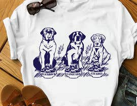 #13 for What are the BIG Dogs doing? Illustration T shirt Design by mdyounus19
