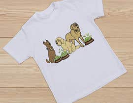 #35 for What are the BIG Dogs doing? Illustration T shirt Design by Mist3rHabib