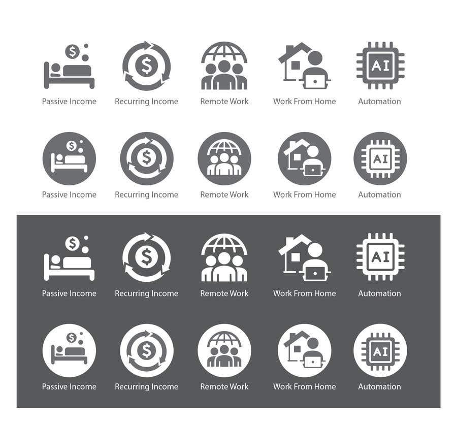 Konkurrenceindlæg #                                        29                                      for                                         Design 5 icons