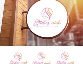 #36 cho Logo redesign - Studios nick - Makeup and hairstyle bởi mahfuzapro12