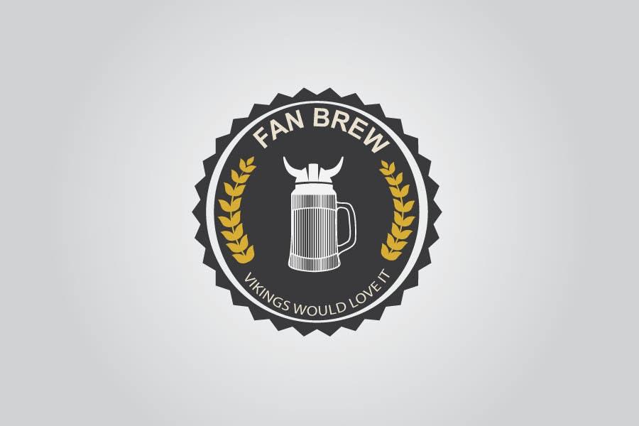 Kilpailutyö #16 kilpailussa Design et retro logo for small brewery