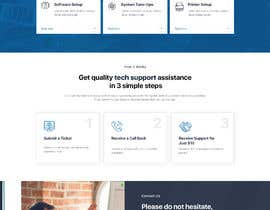 #11 untuk Website rebuild 2 page site with contact form (Computer Support business) oleh adixsoft