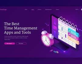 mdrakibahamed68 tarafından Time-Tracking Software landing page web design için no 10
