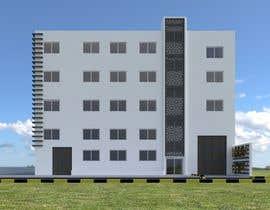 #19 for Factory facade design with 3D af mattebricks4