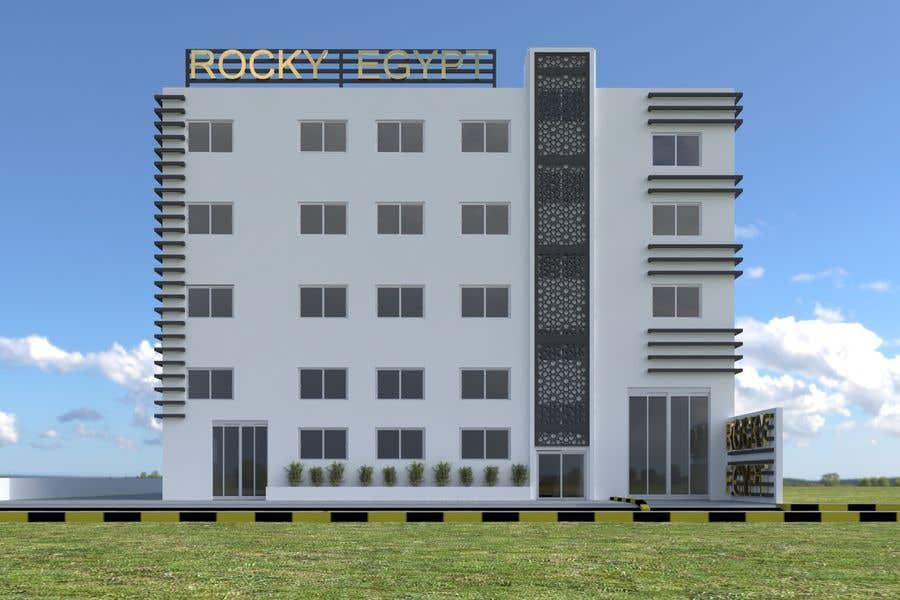 Konkurrenceindlæg #                                        23                                      for                                         Factory facade design with 3D