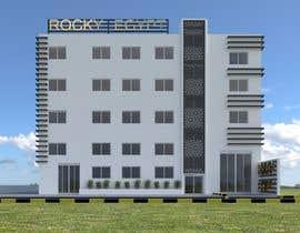 #23 for Factory facade design with 3D af mattebricks4