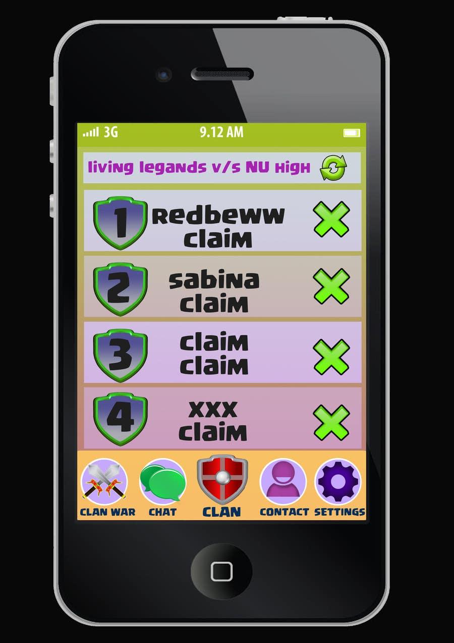 Inscrição nº 3 do Concurso para Design 3 iOS app screens