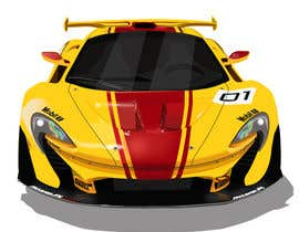 #29 for CARTOON PORTRAIT ILLUSTRATION & 3-D CARTOON RACE CAR DESIGN IN NASCAR DESIGN COLOR WRAP by alifr26898