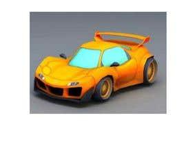 #31 for CARTOON PORTRAIT ILLUSTRATION & 3-D CARTOON RACE CAR DESIGN IN NASCAR DESIGN COLOR WRAP by oritosola