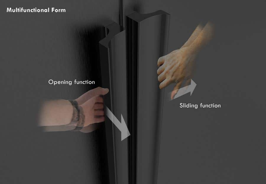 Proposition n°                                        36                                      du concours                                         Tall Aluminum Handles for Openable or Sliding Wardrobes