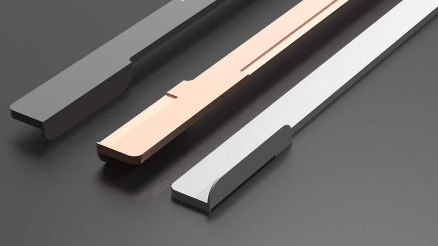 Proposition n°                                        14                                      du concours                                         Tall Aluminum Handles for Openable or Sliding Wardrobes