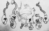 Graphic Design Entri Peraduan #51 for Draw us 5 goofy robots