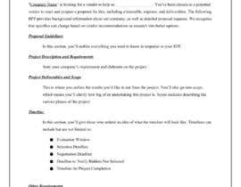 #8 untuk I want a TEMPLATE for REQUEST FOR PROPOSAL oleh Abhishek26997