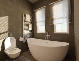 #25 para Bathroom 3d design por freemarkcasty91