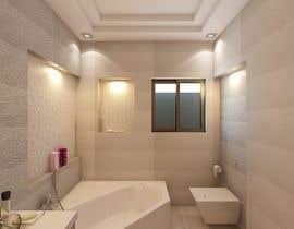 #26 para Bathroom 3d design por arooosajabeen