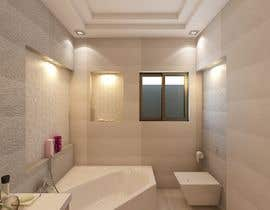 #26 untuk Bathroom 3d design oleh arooosajabeen