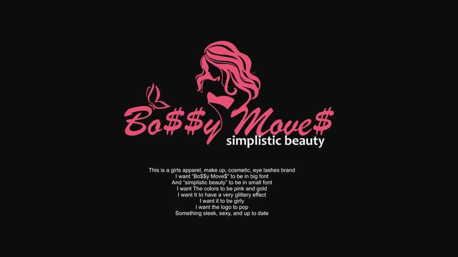 Penyertaan Peraduan #                                        93                                      untuk                                         Logo for Bo$$y Move$ & Simplistic Beauty