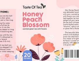Nro 45 kilpailuun Packaging Label For Spring Flower Teas käyttäjältä bebbytang