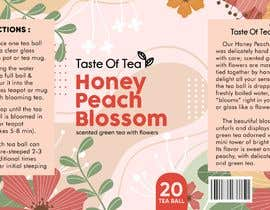Nro 67 kilpailuun Packaging Label For Spring Flower Teas käyttäjältä bebbytang