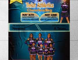 #35 cho Cheerleading Tryout Flyer bởi fatemaakterkeya1