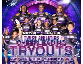#13 cho Cheerleading Tryout Flyer bởi ro28kster1