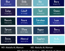 mamun120588 tarafından Create a colour scheme for my business için no 24