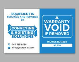 #46 for Sticker Design for service/repair of equipment by alakram420