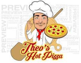 haidarhashim tarafından MAKE A LOGO FOR THEO'S HOT PIZZA!!!! için no 482