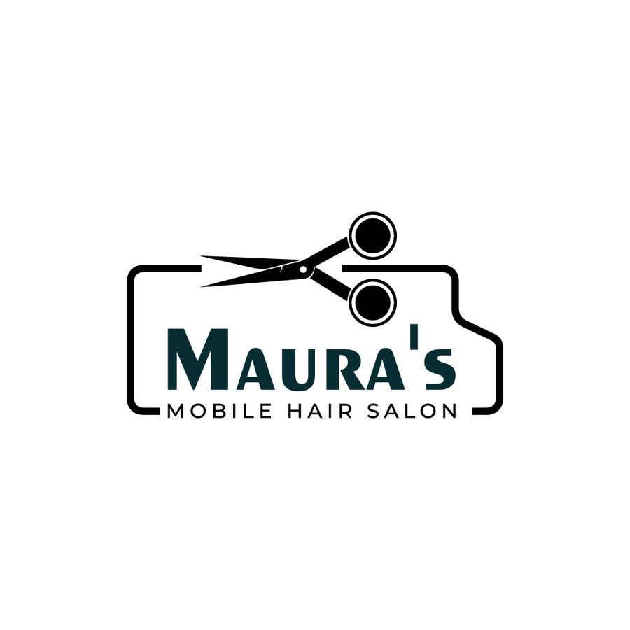 Bài tham dự cuộc thi #                                        90                                      cho                                         Design a logo for      Maura's Mobile Hair Salon