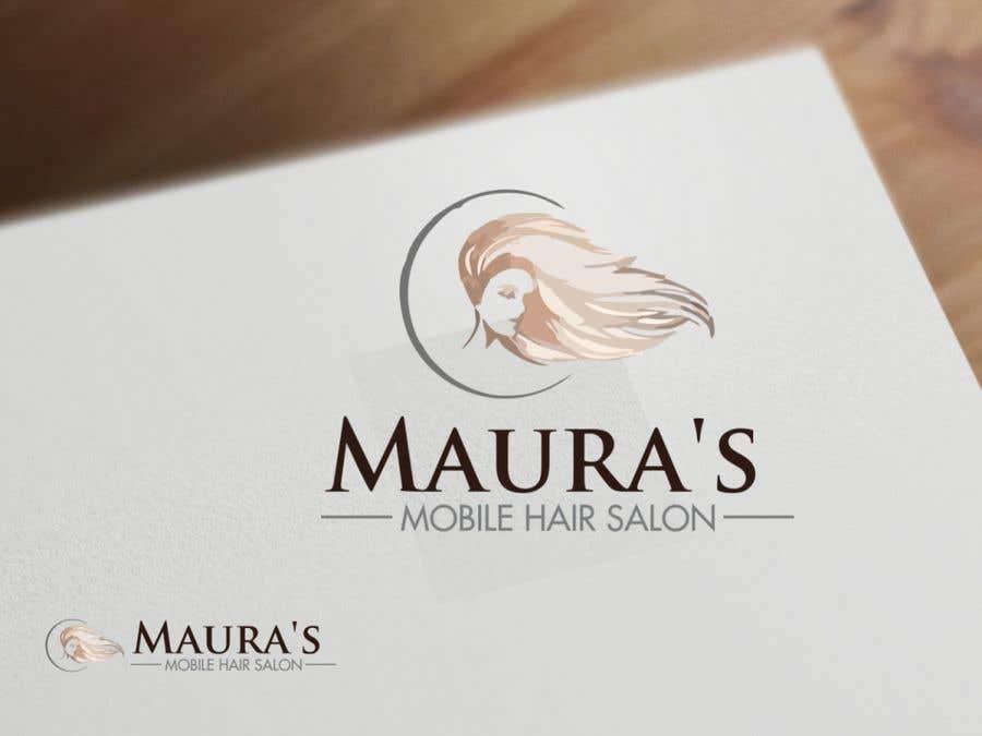 Bài tham dự cuộc thi #                                        84                                      cho                                         Design a logo for      Maura's Mobile Hair Salon