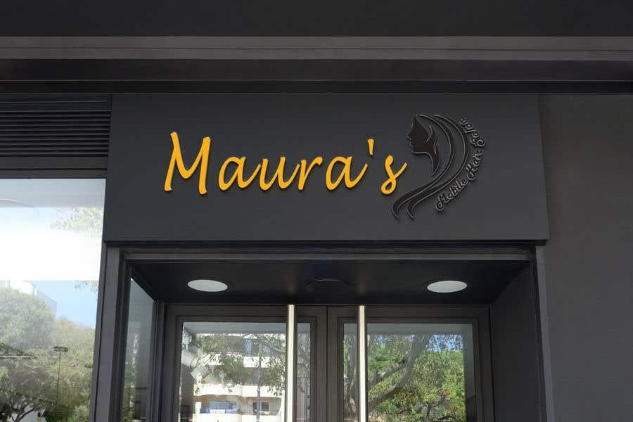 Bài tham dự cuộc thi #                                        52                                      cho                                         Design a logo for      Maura's Mobile Hair Salon