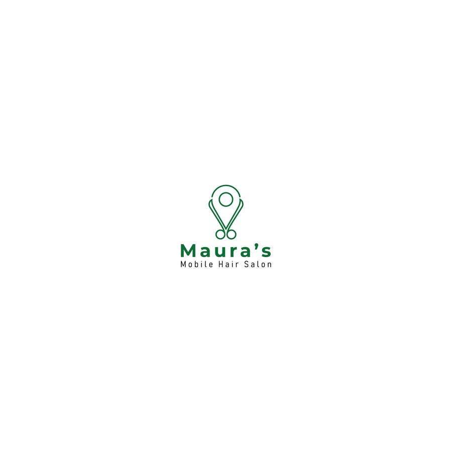 Bài tham dự cuộc thi #                                        34                                      cho                                         Design a logo for      Maura's Mobile Hair Salon