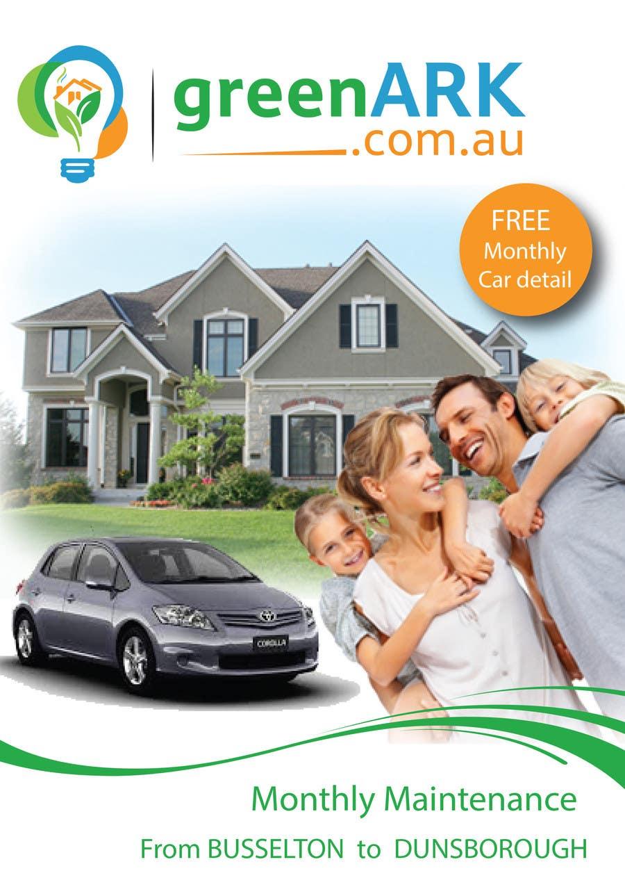 Contest Entry #                                        8                                      for                                         Design a Flyer for GreenArk Property Maintenance