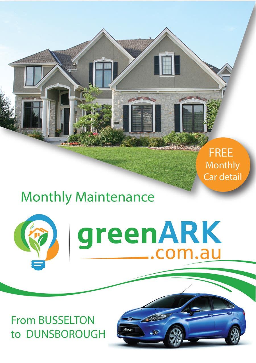 Contest Entry #                                        11                                      for                                         Design a Flyer for GreenArk Property Maintenance