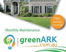 #11 for Design a Flyer for GreenArk Property Maintenance by jassna
