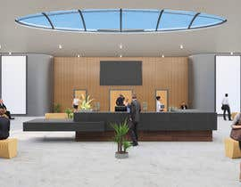 #109 cho 3D Reception hall design bởi archilgogua