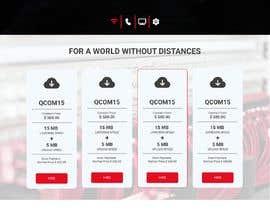 Nro 61 kilpailuun Web Page Design käyttäjältä salimurraji