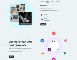 Nro 73 kilpailuun Web Page Design käyttäjältä ftRabby