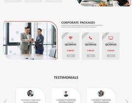 Nro 53 kilpailuun Web Page Design käyttäjältä shovont0
