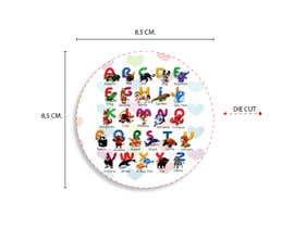 #38 for Learn Sticker (alphabet) af cakemudbudiono