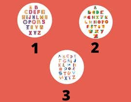 #40 for Learn Sticker (alphabet) af mohittailong24