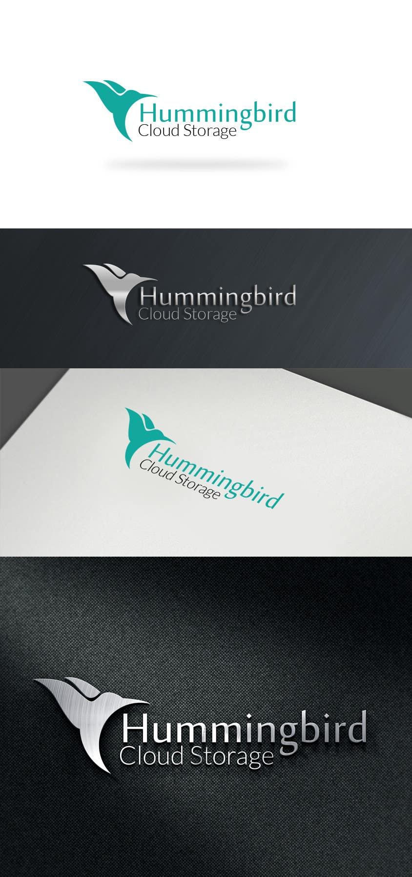 Konkurrenceindlæg #                                        41                                      for                                         Hummingbird Cloud Storage Logo