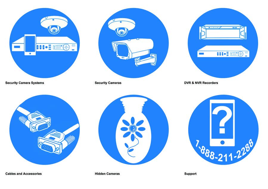 Contest Entry #                                        2                                      for                                         Design some Icons and thumbnails for categories