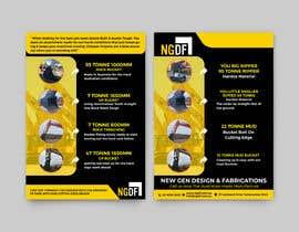 Nro 14 kilpailuun Brochures / Flyers designed käyttäjältä alakram420