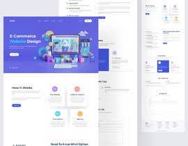 Nro 8 kilpailuun Web page design - Influencers käyttäjältä goyaniakash007