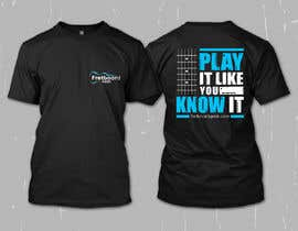 #179 for T-Shirt design for education site for fretted instruments (not just guitar) by erwinubaldo87