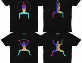 #80 for Goddess Yoga Pose T-shirt by kamrunfreelance8