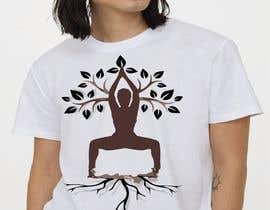 #76 for Goddess Yoga Pose T-shirt by Mahmud2160