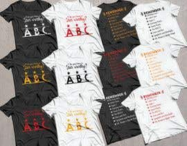 #41 for Create a tee shirt design by SayemProdhan